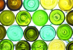 glass recycling glass bottles