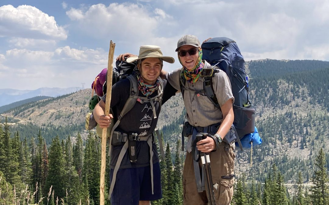 Mack Alums Make Epic Hike from Littleton to Snowmass
